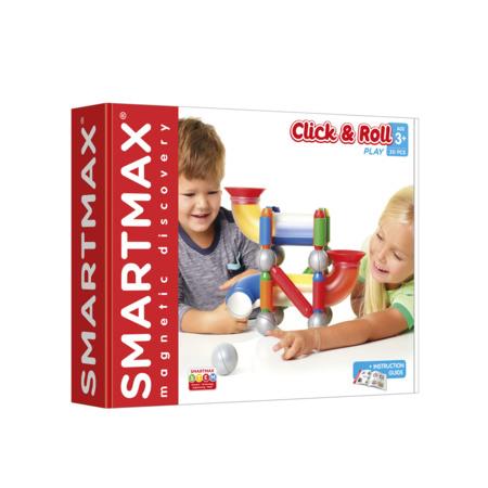 Jeu de construction magnétique Click and Roll SMARTMAX 1