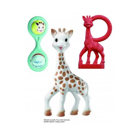 Set de naissance Twist Sophie la girafe  VULLI 1