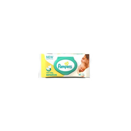 Lingettes Sensitive New Baby PAMPERS 1