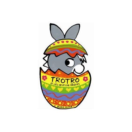 Livre L'âne Trotro et les oeufs de Pâques L'ANE TROTRO 1
