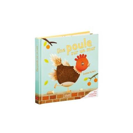 Livre Une poule sur un mur 1