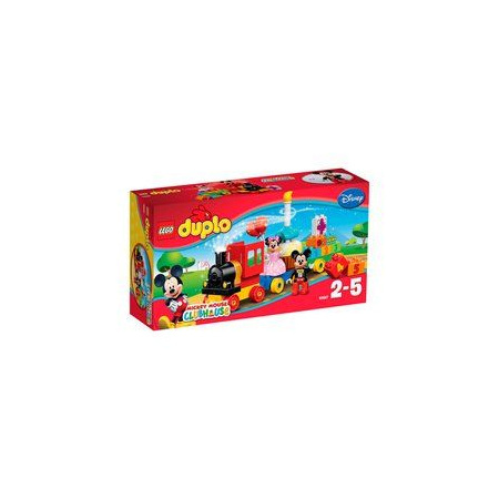 La parade d'anniversaire de Mickey et Minnie Duplo LEGO 1