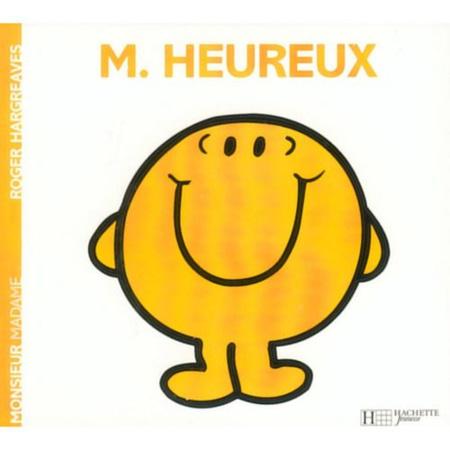 Livre Monsieur Heureux HACHETTE JEUNESSE 1
