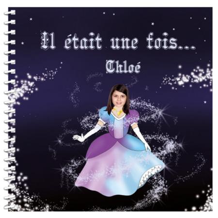 Livre personnalisé pour enfant et sa famille : Il était une fois une princesse MON LIVRE PERSONNALISABLE 1
