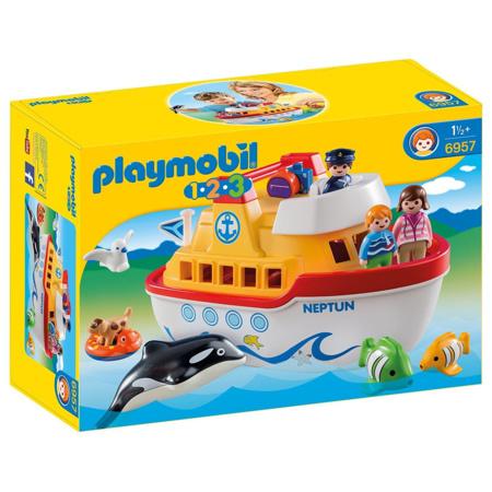Playmobil 1.2.3 - Navire transportable PLAYMOBIL 1