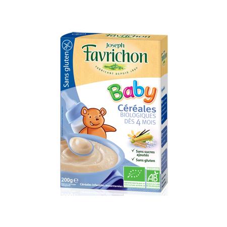 Céréales Baby dès 4 mois JOSEPH FAVRICHON 1