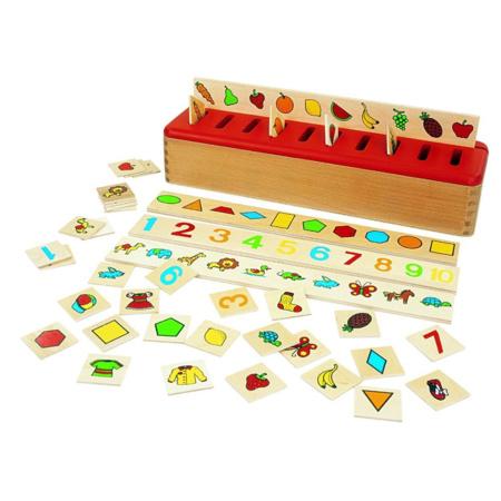 Boîte de Tri Montessori - BSM - 1