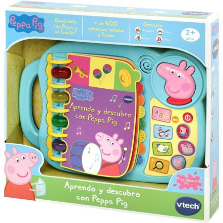 Livre Découvrez et découvrez avec Peppa Pig VTECH 1