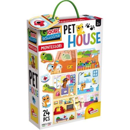 Jeu Montessori Pet House LISCIANI 1