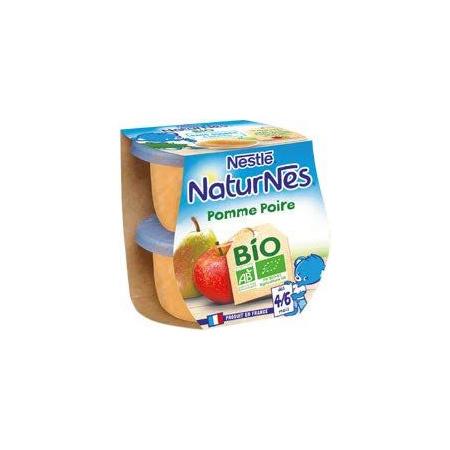 Naturnes Bio Pomme Poire 1