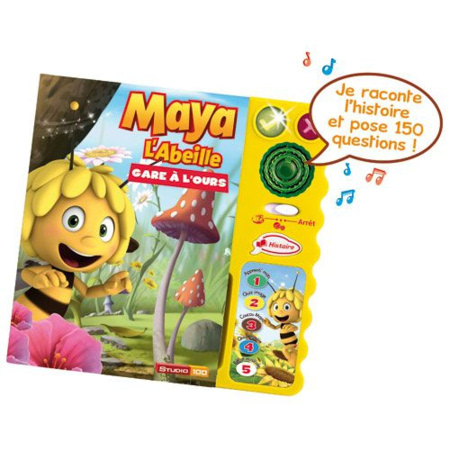 Magi Livre Interactif  Maya l'abeille VTECH 1