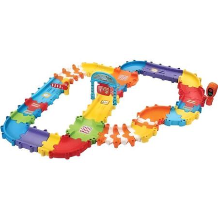 Tut Tut Bolides - Super Pack multipiste twist 46 pieces et accessoires VTECH 1