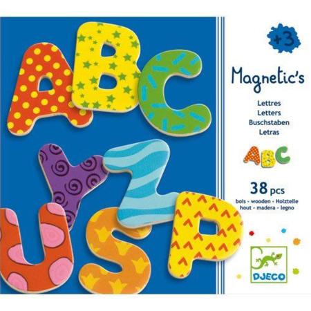38 lettres fantaisie Magnetic's DJECO 1