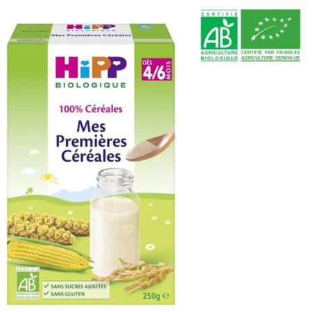 Mes premières céréales - boîte 50g - 4 mois HIPP 1