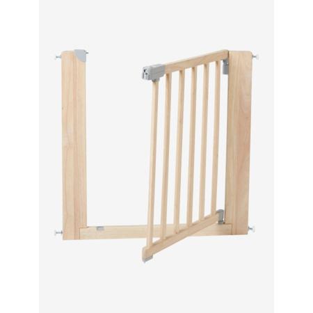 Barrière de sécurité en bois naturel VERTBAUDET 1
