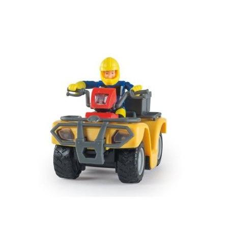 Sam le pompier et son quad Mercure SMOBY 1