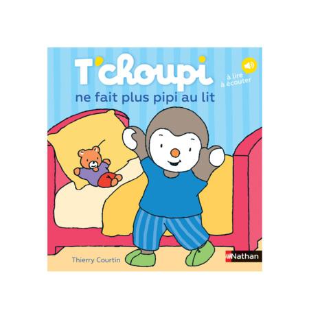 Livre T'Choupi ne fait plus pipi au lit NATHAN 1