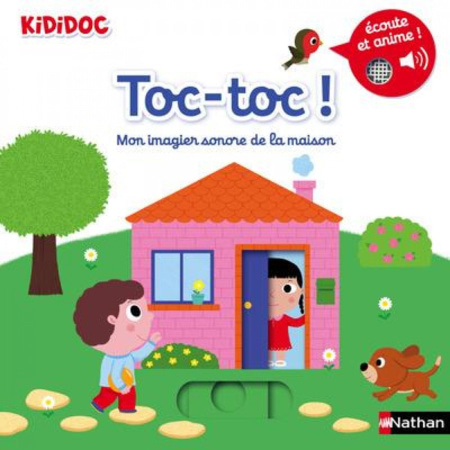 Livre Toc-toc ! Mon imagier sonore de la maison - Kididoc NATHAN 1