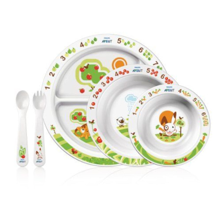 Set repas bébé 2è âge AVENT-PHILIPS 1
