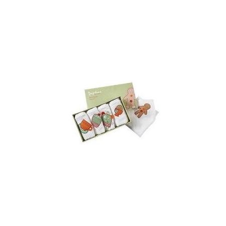 Boîte de 5 serviettes Gingerbread 1