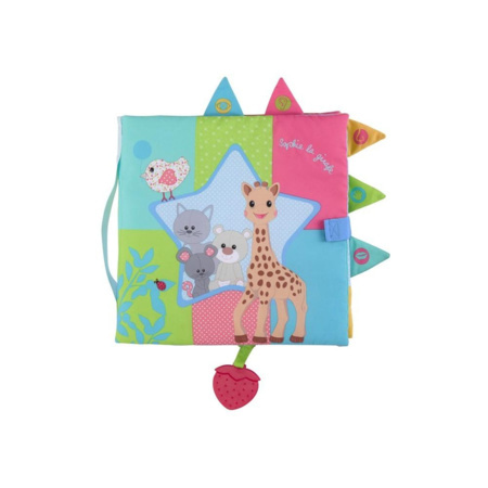 Livre d'éveil Sensitive book Sophie la girafe 1