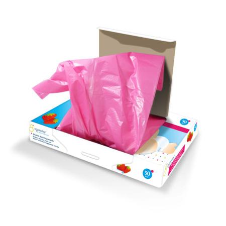 Sacs à couches parfumés fraise (x50) ORGAKIDDY 2