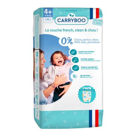Couches écologiques dermo-sensitives CARRYBOO 9