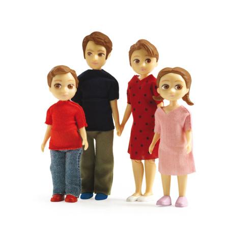 Figurines Famille - Thomas et Marion DJECO 1