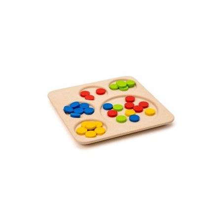 Jeu de tri couleurs Ateliers Montessori OXYBUL 1