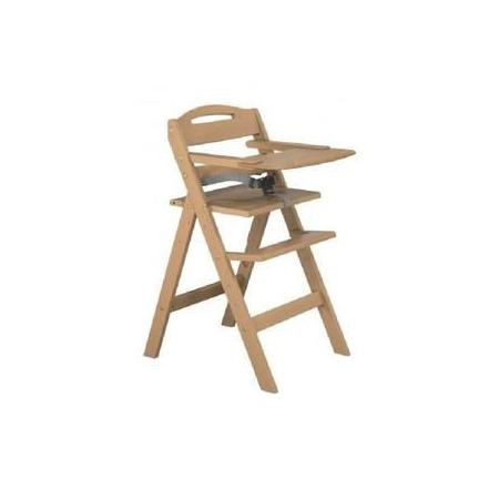 Chaise haute évolutive en bois AT4 1