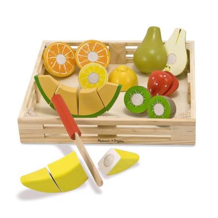 Coffret de fruits à découper MELISSA & DOUG 1