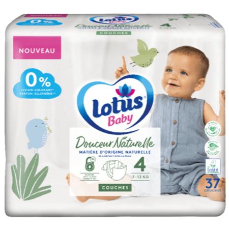 Couches Douceur Naturelle LOTUS BABY 1