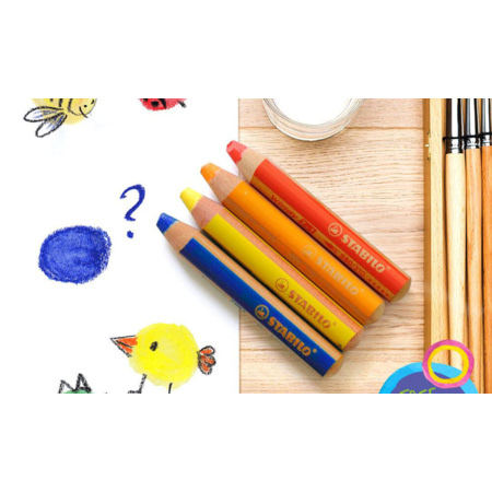 Crayons multifonctions woody 3 en 1 STABILO 2