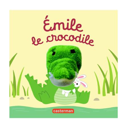 Livre Emile le crocodile les bébêtes CASTERMAN 1