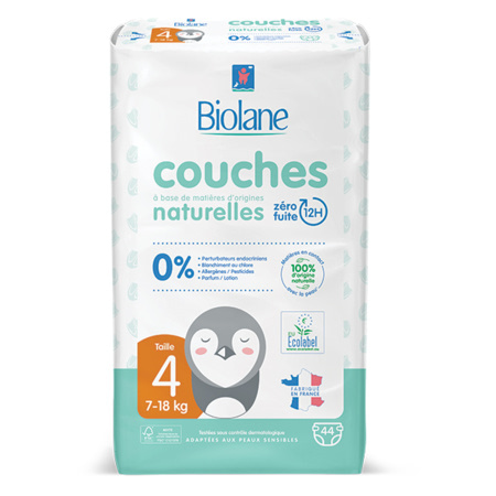 Couches Eco-responsables BIOLANE 4