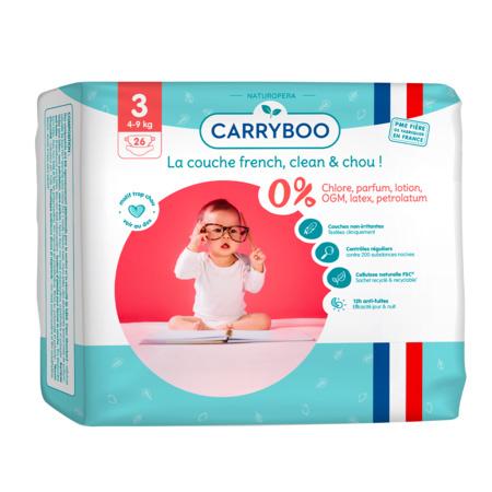 Couches écologiques dermo-sensitives CARRYBOO 4