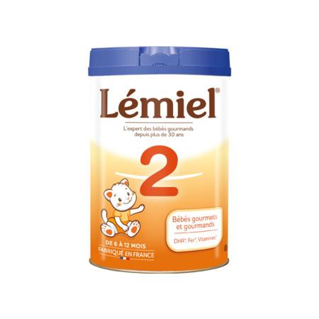Lait Milumel lémiel 2ème âge 900 g 1