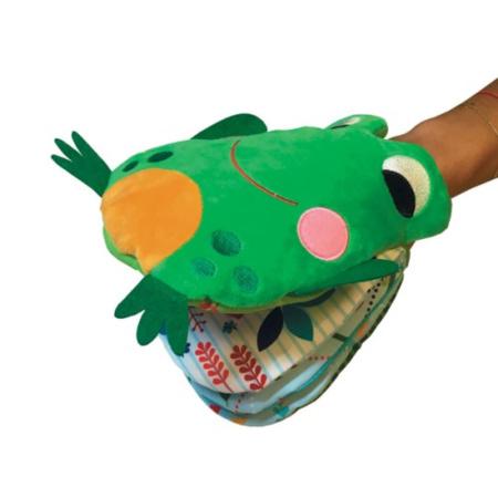 Livre Ma grenouille marionnette ! EDITIONS TOURBILLON 2