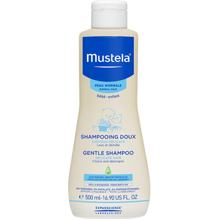 Shampooing doux MUSTELA 1