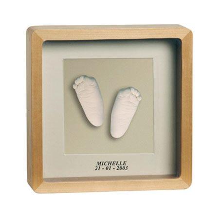 Baby Art cadre empreinte 3D Deluxe BABY ART 1