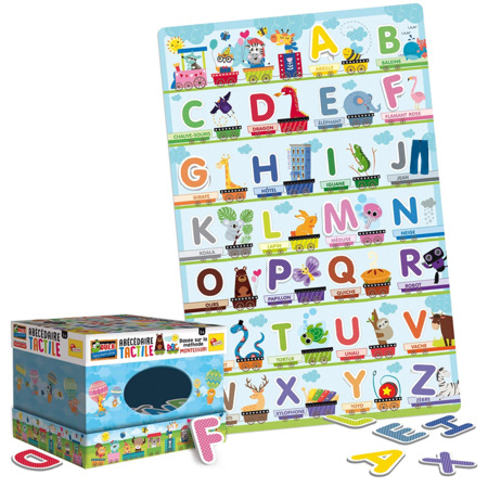 Montessori - Abécédaire tactile LISCIANI 2