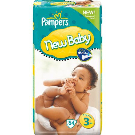 Couches New Baby PAMPERS 5