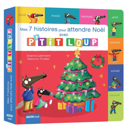 Livre Mes 7 histoires de Noël avec P'tit Loup EDITIONS AUZOU 1