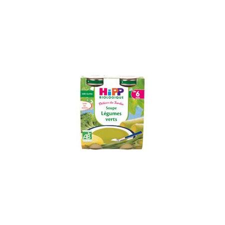 Soupe aux légumes verts 20 cl dès 6 mois HIPP 1