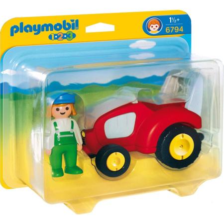Playmobil 1.2.3 - Agricultrice avec tracteur PLAYMOBIL 1