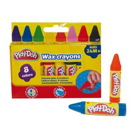 Maxi crayons gras PLAY DOH 1