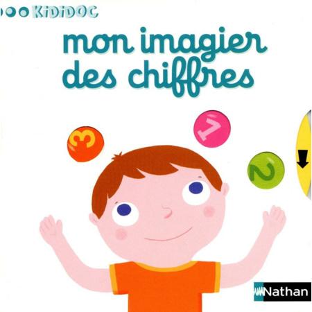 Livre Mon imagier des chiffres - Kididoc NATHAN 1