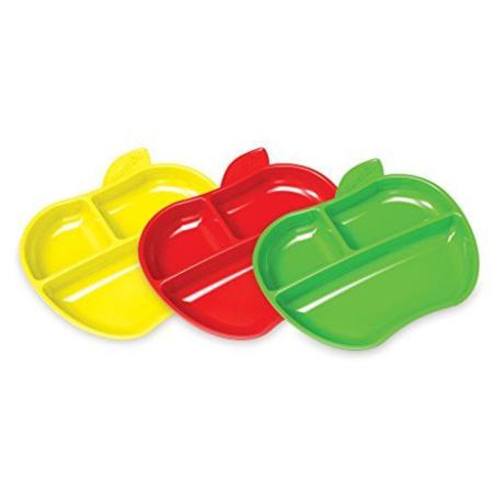 Assiettes Petite Pomme x3 MUNCHKIN 1