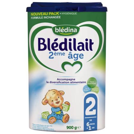 Lait Blédilait 2ème âge 900g BLEDINA 1
