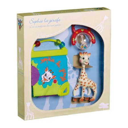 Coffret naissance jouets d'éveil Sophie la girafe 1